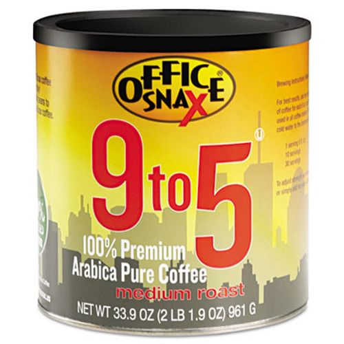 Office Snax 100% Pure Arabica Coffee, Original Blend (OFX00058)