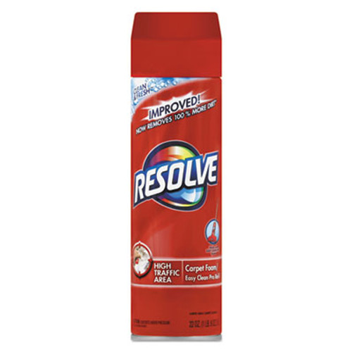 RESOLVE Foam Carpet Cleaner  Foam  22 oz  Aerosol Can (REC 00706)