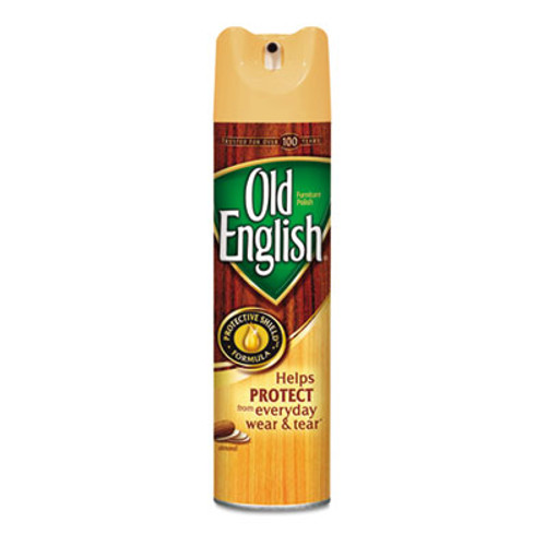 OLD ENGLISH Furniture Polish  Almond Scent  12 5oz Aerosol (REC 77677)