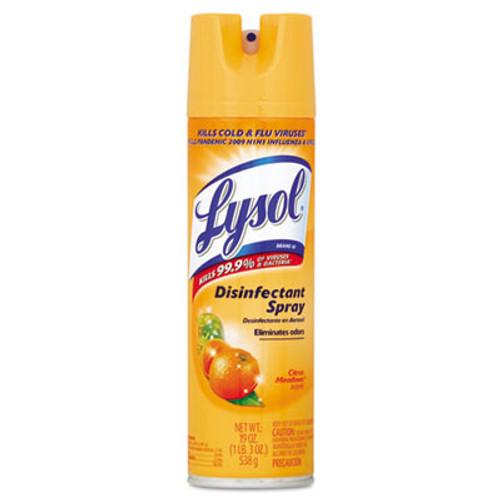 LYSOL Brand Disinfectant Spray, Citrus Meadow Scent, 19oz Aerosol (REC 81546)