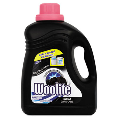 WOOLITE Extra Dark Care Laundry Detergent, 100 oz Bottle (REC 83768)