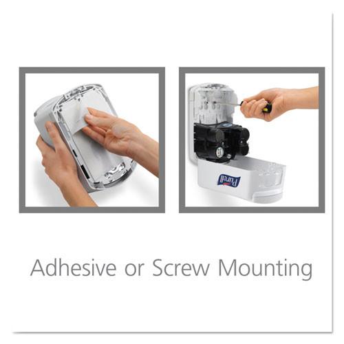 PURELL LTX-7 Touch-Free Dispenser  700 mL  5 75  x 4  x 8 62   White (GOJ 1320-04)