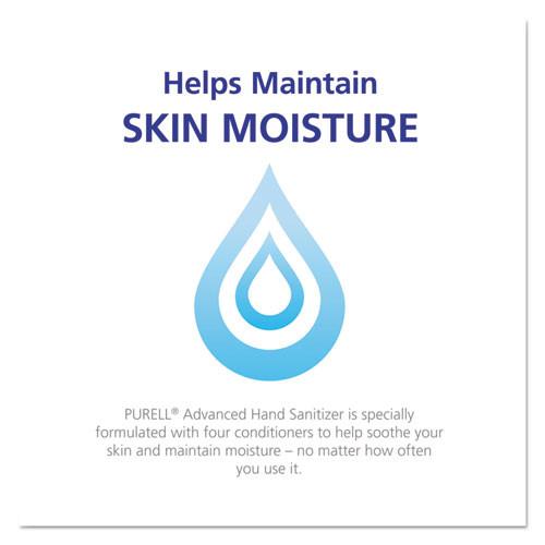 PURELL Advanced Hand Sanitizer Green Certified Refill  700 mL  Fragrance-Free  3 Carton (GOJ 1304-03)