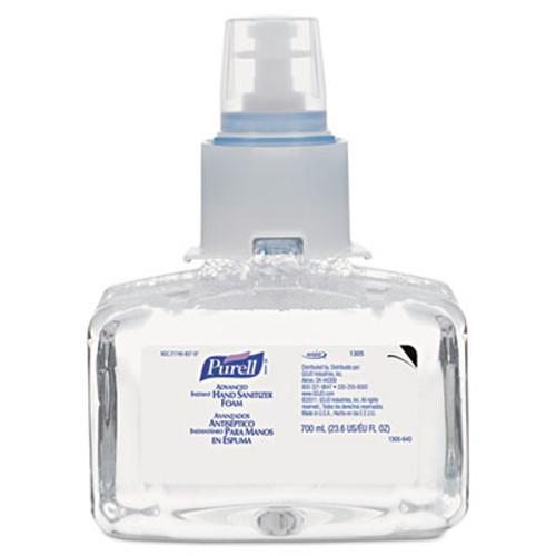 PURELL Advanced Hand Sanitizer Foam  LTX-7  700 mL Refill  3 Carton (GOJ 1305-03)