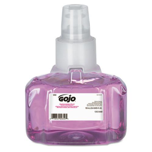 GOJO Antibacterial Foam Hand Wash, 700mL Refill, Plum Scent (GOJ 1312-03)