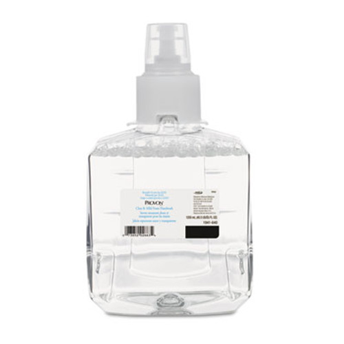 PROVON Clear & Mild Foam Hand Wash, 1200mL Refill, Unscented, 2/Carton (GOJ 1941-02)