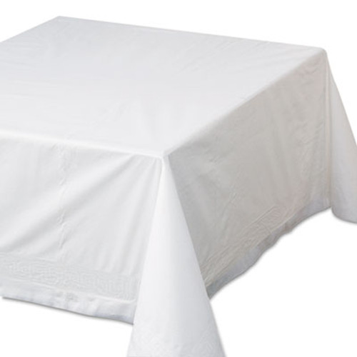 Hoffmaster Tissue Poly Tablecovers  72  x 72   White  25 Carton (HFM 210066)