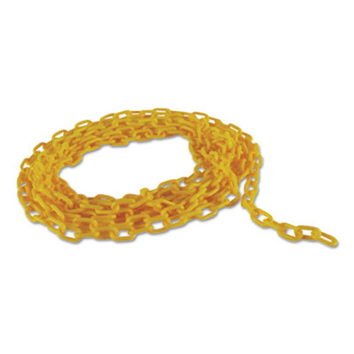"""Rubbermaid Commercial Barrier Chain, Yellow, 20"""" L (RCP 6184 YEL)"""