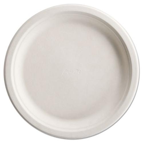 Chinet PaperPro Naturals Fiber Dinnerware  Plate  10 1 2  Round Natural 125 PK 4 PK CT (HUH PAPRO2)