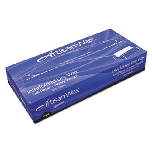 Bagcraft Interfolded Dry Wax Deli Paper  10  x 10 3 4   White  500 Box  12 Boxes Carton (BGC 012010)