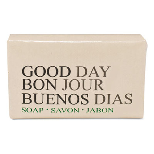 Good Day Amenity Bar Soap  Pleasant Scent    1 2  1 000 Carton (GTP 390050)