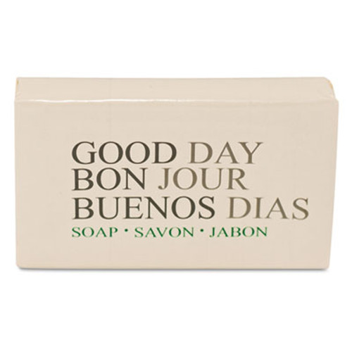 Good Day Amenity Bar Soap  Pleasant Scent    1 1 2  500 Carton (GTP 390150)