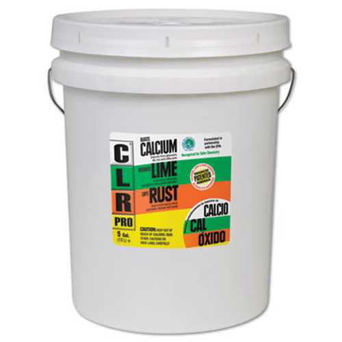 CLR PRO Calcium  Lime and Rust Remover  5 gal Pail (JEL CL-5PRO)
