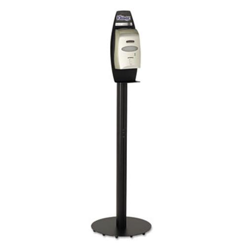 Kimberly-Clark Professional* Skin Care Cassette Dispenser Floor Stand, 17.7w x 6d x 62h, Black (KCC 11430)