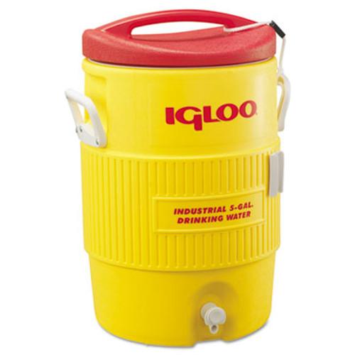 Igloo Industrial Water Cooler  5 gal  Yellow Red (IGL 451)