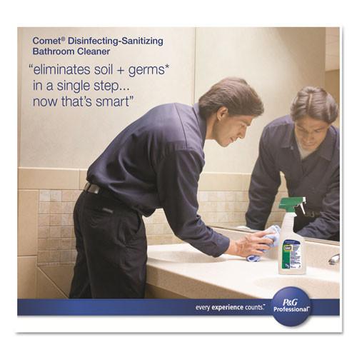 Comet Disinfecting-Sanitizing Bathroom Cleaner  32 oz Trigger Bottle  8 Carton (PGC 22569)