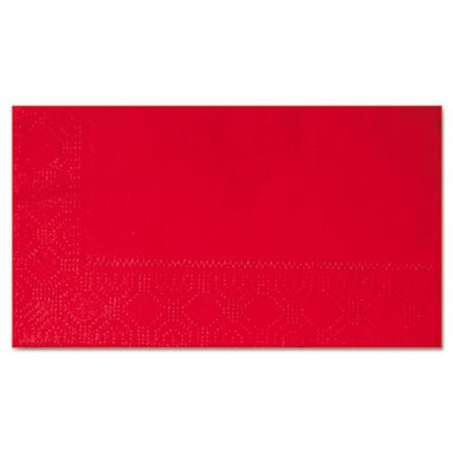 Hoffmaster Dinner Napkins, 2-Ply, 15 x 17, Red, 1000/Carton (HFM 180511)