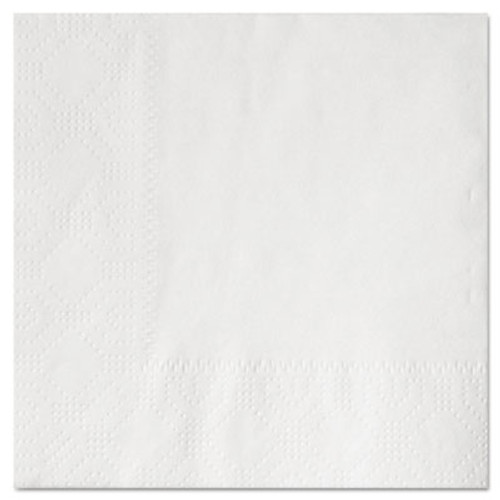 Hoffmaster Beverage Napkins, 2-Ply 9 1/2 x 9 1/2, White, Embossed, 1000/Carton (HFM 180300)
