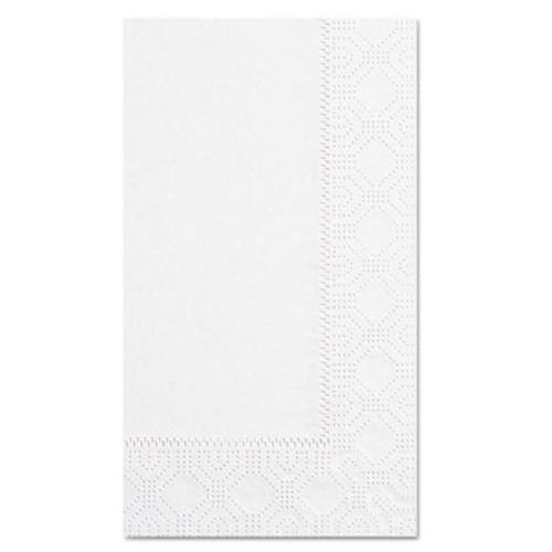 Hoffmaster Dinner Napkins, 2-Ply, 15 x 17, White, 1000/Carton (HFM 180500)