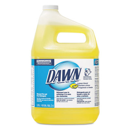 Dawn Professional Manual Pot Pan Dish Detergent  Lemon  4 Carton (PGC 57444)