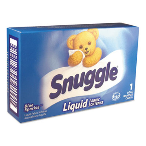 Snuggle Liquid HE Fabric Softener  Original  1 Load Vend-Box  100 Carton (VEN 2979996)