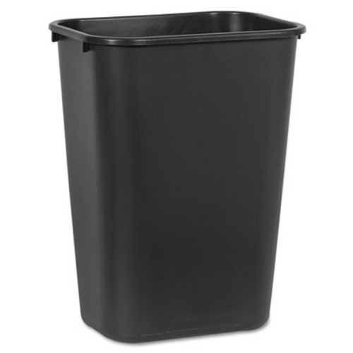Boardwalk Soft-Sided Wastebasket  41 qt  Plastic  Black (UNS 41QTWB BLA)