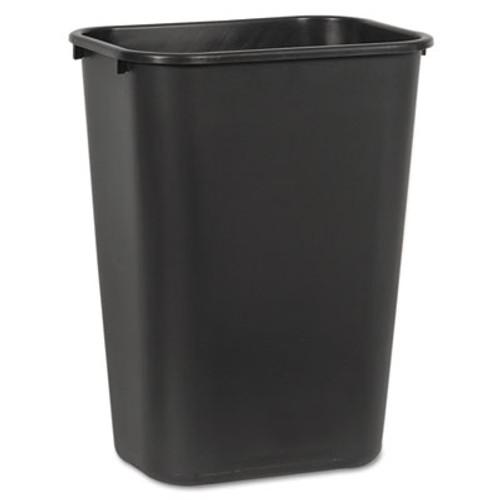Boardwalk Soft-Sided Wastebasket  41 qt  Plastic  Black (UNS 41QTWB BLA)