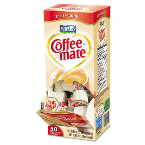 Coffee mate Liquid Coffee Creamer  Original  0 38 oz Mini Cups  50 Box  4 Boxes Carton  200 Total Carton (NES 35110)