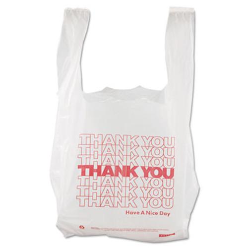 Barnes Paper Company Thank You High-Density Shopping Bags  8  x 16   White  2 000 Carton (BPC 8416THYOU)