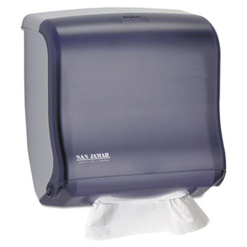 San Jamar Ultrafold Fusion C-Fold   Multifold Towel Dispenser  11 1 2x5 1 2x11 1 2  Black (SAN T1755TBK)
