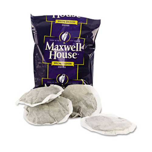 Maxwell House Coffee  Regular Ground  1 2 oz Special Delivery Filter Pack  42 Carton (MRC FVS862400)