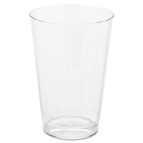 WNA Classic Crystal Plastic Tumblers  12 oz  Clear  Fluted  Tall (WNA CC12240)