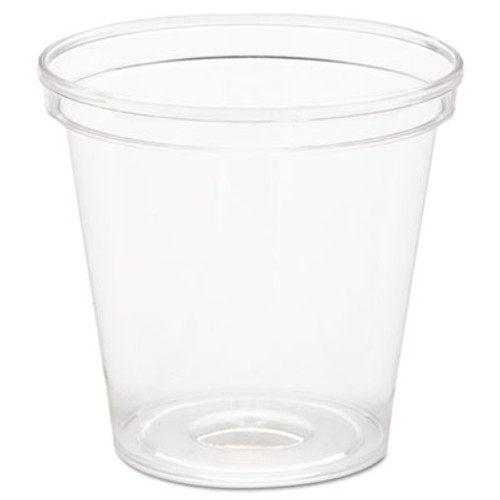 WNA Comet Plastic Portion Shot Glass  1 oz  Clear (WNA P10)