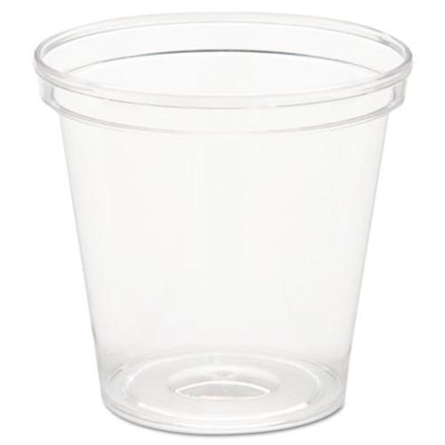 WNA Comet Plastic Portion Shot Glass  1 oz  Clear (WNA P10)
