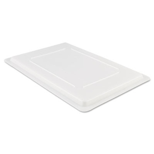 Rubbermaid Commercial Food Tote Box Lids  26w x 18d  White (RCP 3502 WHI)