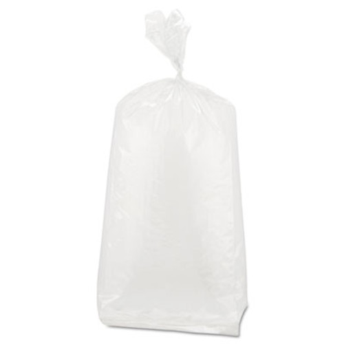 Inteplast Group Get Reddi Food & Poly Bag, 4x2x12, 1-Quart, 0.68 Mil, Clear, 1000/Carton (IBS PB040212)