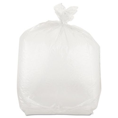 Inteplast Group Get Reddi Food & Poly Bag, 10 x 8 x 24, 22-Quart, 1.00 Mil, Clear, 500/Carton (IBS PB100824)