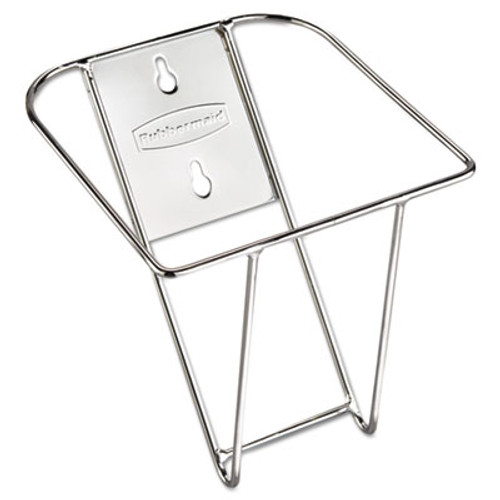 Rubbermaid Commercial Scoop Holder Bracket  Stainless Steel  7 5w x 10d x 5 4d (RCP 9F43)