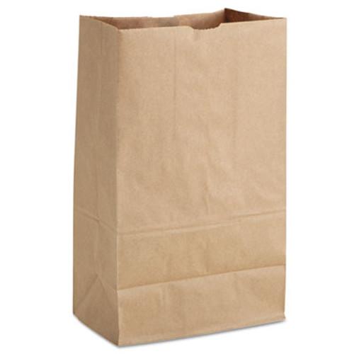 General 1/8 BBL Paper Grocery Bag, 52lb Kraft, Standard 9 3/4 x 6 1/4 x 16 3/8, 500 bags (BAG SK1852T)