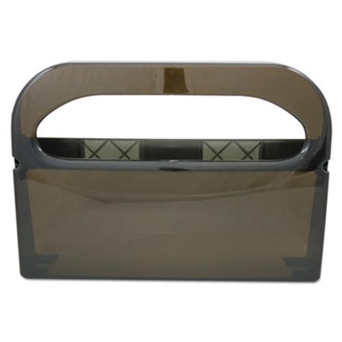 HOSPECO Health Gards Toilet Seat Cover Dispenser  Smoke  16wx3-1 4dx11-1 2h (HOS HG-1-2 SMO)