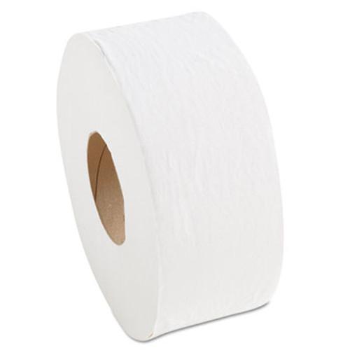 "Morcon Paper Morsoft Millennium Jumbo Bath Tissue, 1-Ply, 3.55"", White, 12/Carton (MOR M19)"