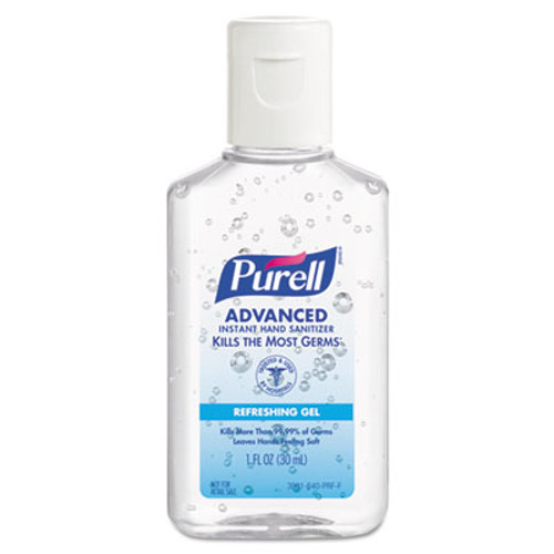 PURELL Advanced Instant Hand Sanitizer Gel, Jelly Wrap Bracelet 1 oz Bottle, 36/Case (GOJ 3900-36-WRP)