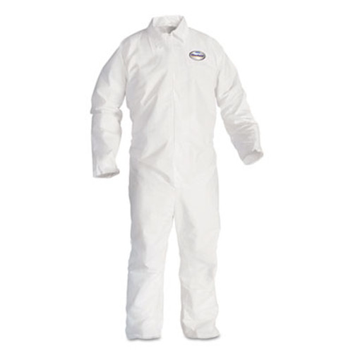 KleenGuard* A20 Breathable Particle Protection Coveralls, 3X-Large, White, 20/Carton (KCC 49006)