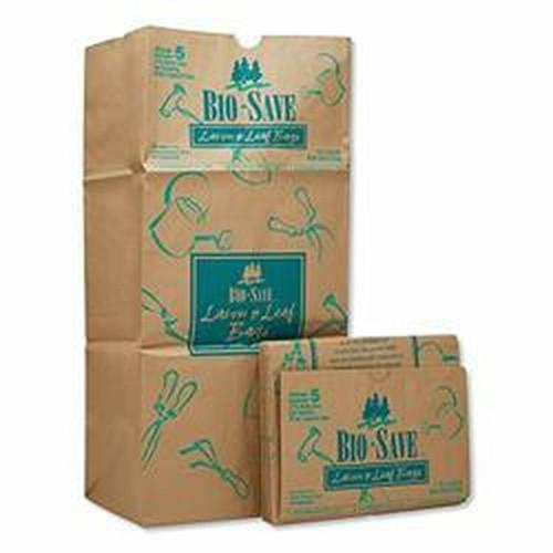 General Lawn and Leaf Bags  30 gal  16  x 35   Kraft  50 Bags (BAG RBR30105BO)