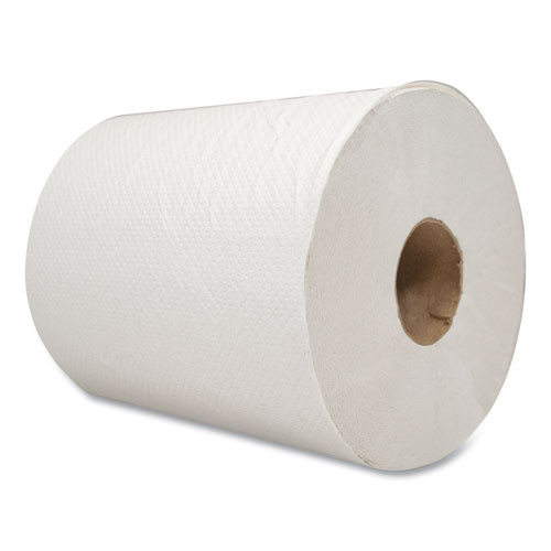 Morcon Tissue Morsoft Universal Roll Towels  Paper  White  7 8  x 600 ft  12 Rolls Carton (MOR W12600)
