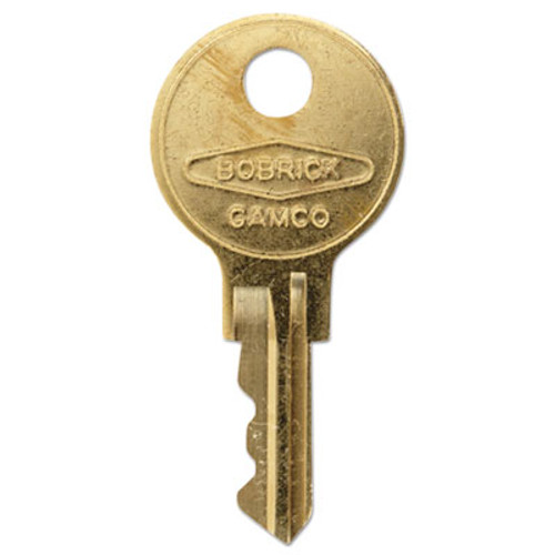 Bobrick Cat 74 Key for Towel Dispensers  Metal Key (BOB 330-43)