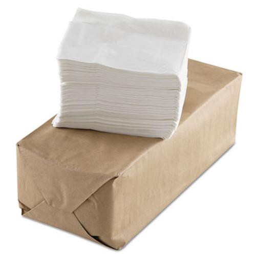 GEN Tall-Fold Napkins, 1-Ply, White, Paper, 10000/Carton (GEN US501)