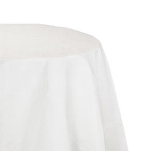Hoffmaster Tissue Poly Tablecovers  Square  82  x 82   White  25 Carton (HFM 210086)