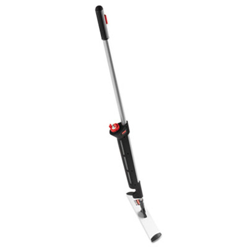 "Rubbermaid Commercial Pulse Executive Spray Mop System, Black/Silver Handle, 55.4"" (RCP 1863884)"