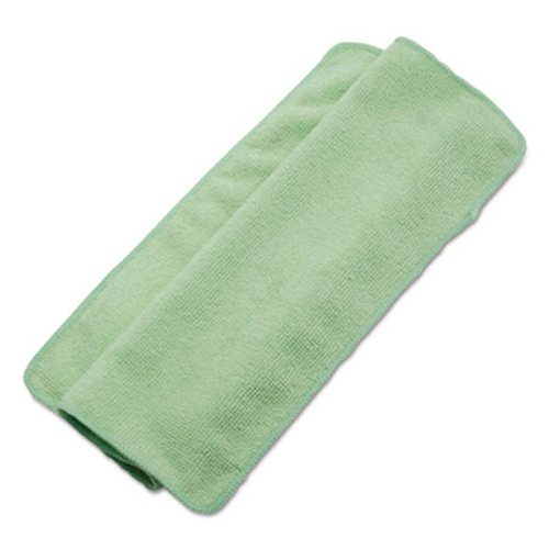 Boardwalk Lightweight Microfiber Cleaning Cloths, Green,16 x 16, 24/Pack (UNS 16GREENCLOTH)